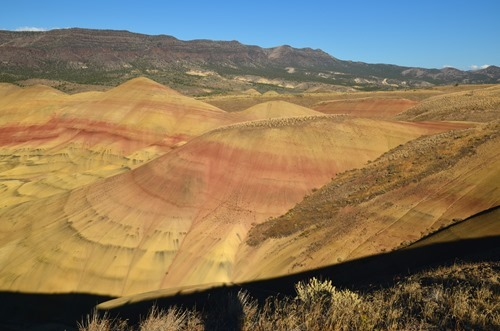 Overlook Trail views Painted Hills John Day Fossil Beds