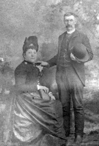 Charles Dodge and his wife, Dr. Lee-o-netto