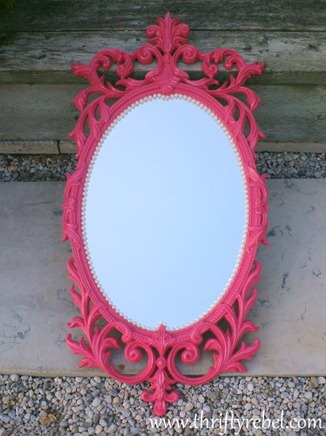 Pink & Pearls Mirror