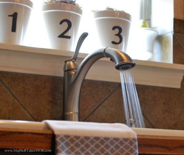 Walden Faucet Aerated Stream