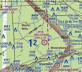Sky Review, VFR Sectional Chart, Aviation, Flying