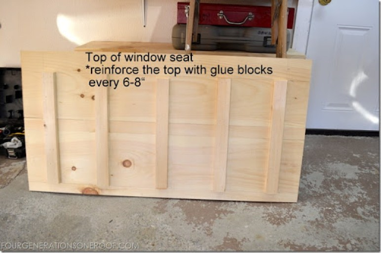 window seat tutorial 7