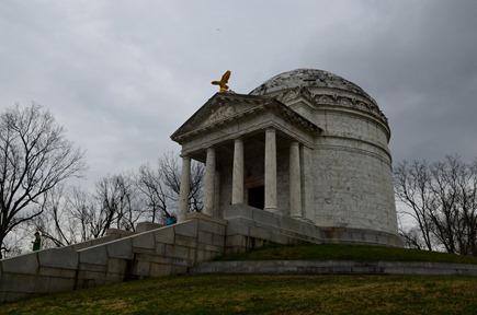 the Illinois State Memorial at Vicksburg