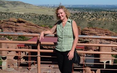 Deb at Red Rocks
