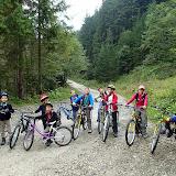 Victoriosi, dupa o tura frumoasa cu bicicleta, pe valea azugii