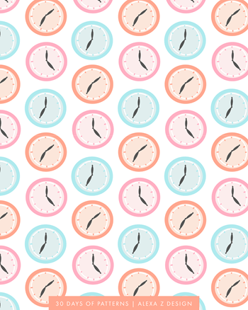 clock   - Alexa Z Design pattern