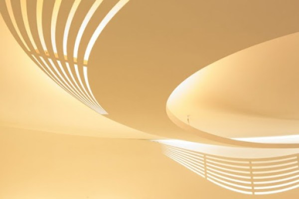 diseño de techos y lamparas modernas
