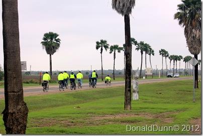 Bikers near Bentsen Palm Village RV Resort, Mission, TX