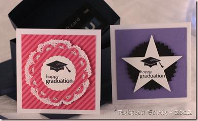 grad hat cards