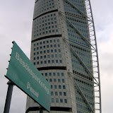 Turning Torso. 190 m, 54 stories,