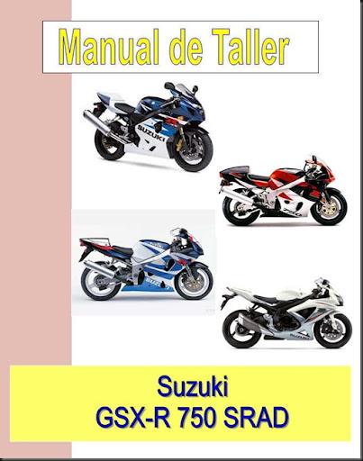 manual taller suzuki gsxr 750 srad