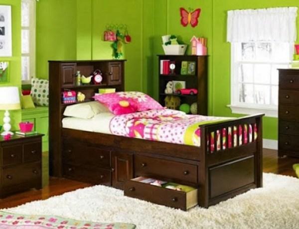 decoracion-dormitorio-nina-verde