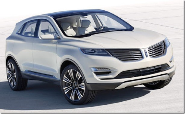 Lincoln MKC Concept: The Lincoln MKC Concept, introduced at the 2013 North American International Auto Show, is a vision of how Lincoln will enter the industry's fastest-growing segment: small luxury utility.