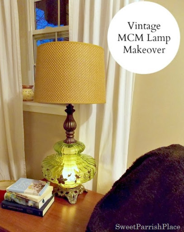 Vintage Green Lamp14