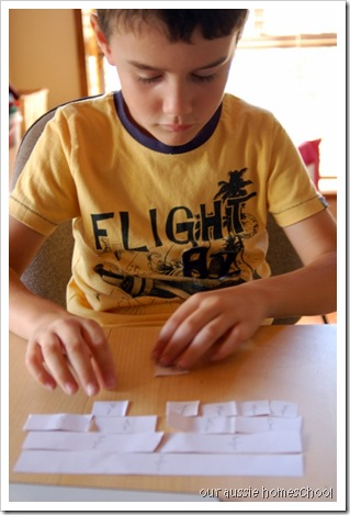 RightStart Fractions ~ Our Aussie Homeschool
