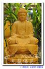 【台灣檜木精雕佛像】原木立體手工雕刻八吋八莊嚴釋迦牟尼佛@台北板橋九龍佛具