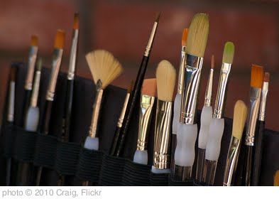 'Paint Brushes Close-Up' photo (c) 2010, Craig - license: http://creativecommons.org/licenses/by/2.0/