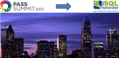 SQL Saturday Charlotte BI Edition 2013