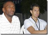 Tevin (USA) y Ángel (MEX)