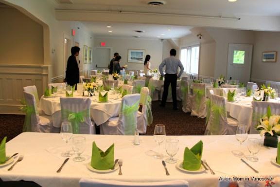 二樓空間是擺婚宴的地方