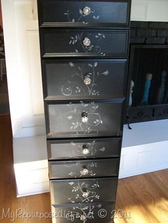 Repurposed Desk into a chest - My Repurposed Life®