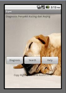Pets Diagnosis screenshot 0