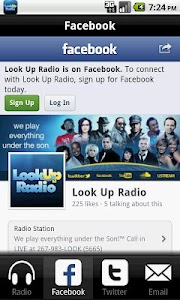 Look Up Radio screenshot 1