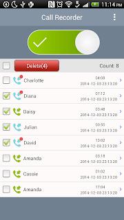 Super Call Recorder screenshot 01