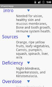 Vitamin App For Free screenshot 0