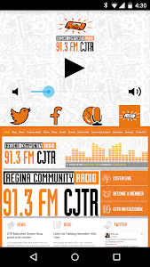 91.3 FM CJTR Regina Radio screenshot 2