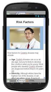 Crohns Disease & Symptoms screenshot 4