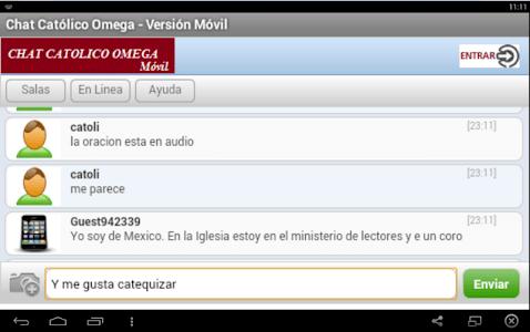 Chat Católico Omega screenshot 6