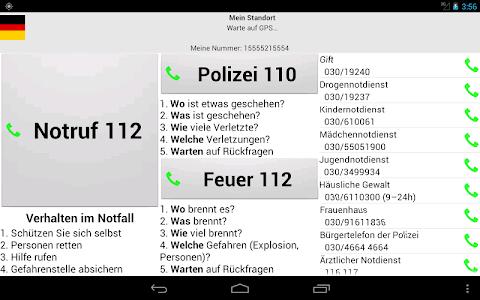 Mobile emergency call screenshot 6