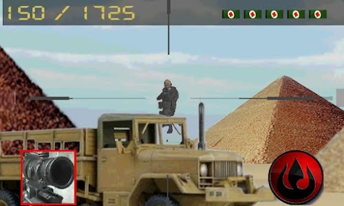 sniper army: pyramids war screenshot 1