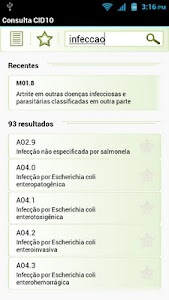 Consulta CID10 FREE screenshot 1