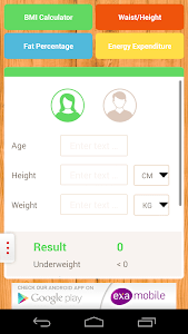 BMI Calculator: weight loss screenshot 1