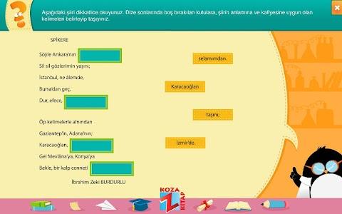 Türkçe 7 KOZA Z-Kitap Demo screenshot 2