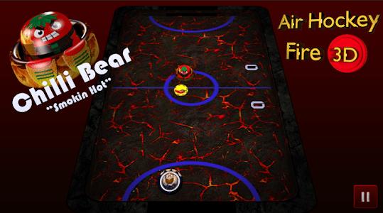 Air Hockey Fire 3D screenshot 5