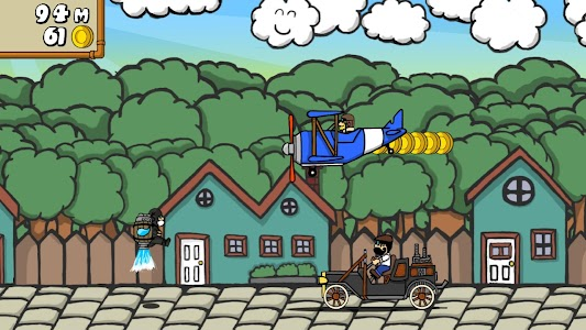 Dr. Gentleman's Jetpack Run screenshot 12