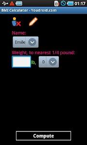 BMI Calculator Pro screenshot 0