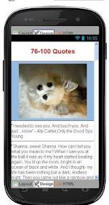 Best Romantic Quotes screenshot 4