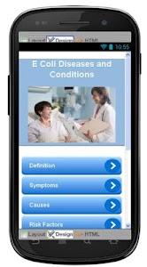 E Coli Disease & Symptoms screenshot 0