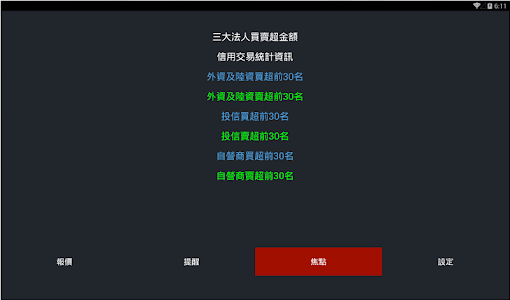 股票報馬仔 - 語音報價,台股,股市,股東會,三大法人 screenshot 11