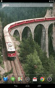 Trains on Bridges Wallpaper screenshot 5