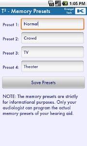T² Hearing Adjuster screenshot 3