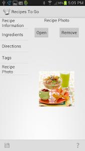 Recipes to Go screenshot 6