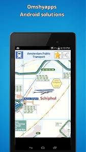Amsterdam public transport map screenshot 5