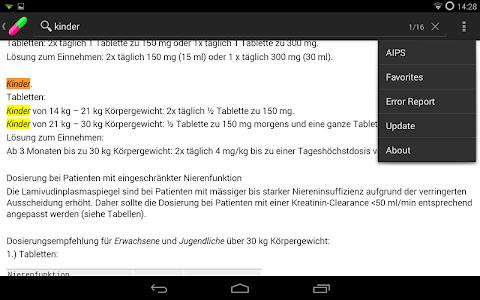 AmiKo Desitin screenshot 15