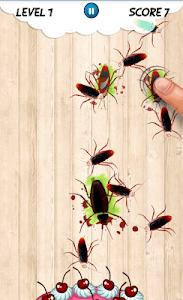 Cockroach smash Insect Crush screenshot 2