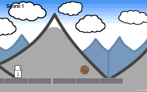 Snowman Runner screenshot 1